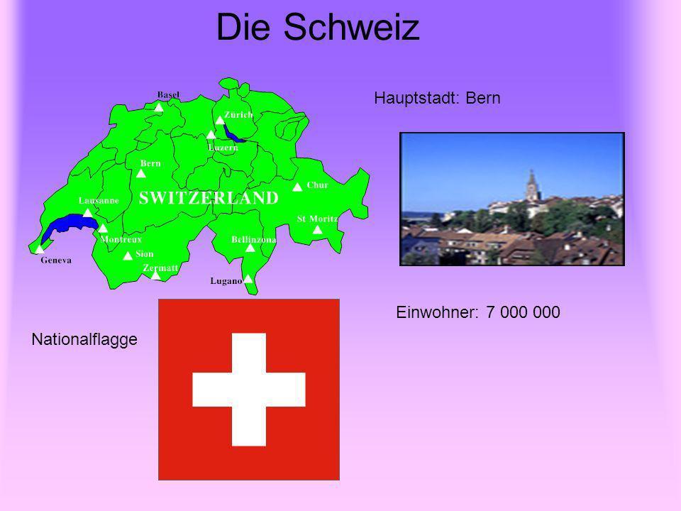 Bundesrepublik Deutschland Nationalflagge Hauptstadt - Berlin Einwohner : 82 000 000