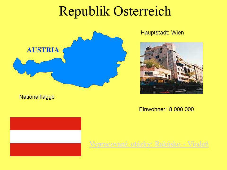 Nationalflagge Hauptstadt : LuxemburgEinwohner: 377 000 Das Furstentum Liechtenstein NationalflaggeHauptstadt: VaduzEinwohner: 29 000 Luxemburg
