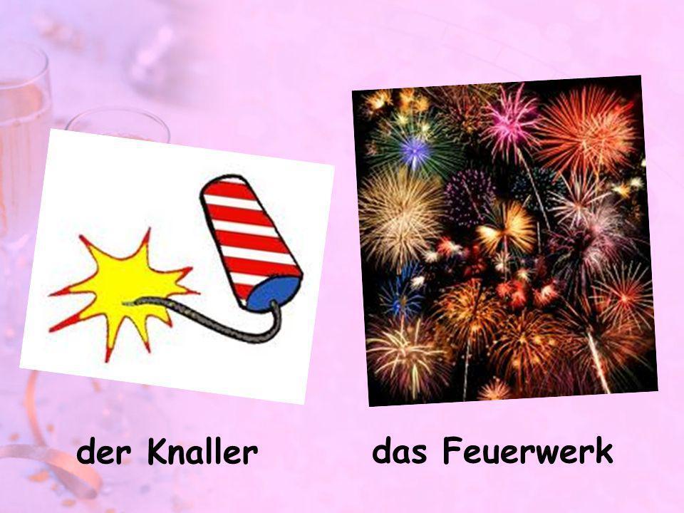der Knaller das Feuerwerk