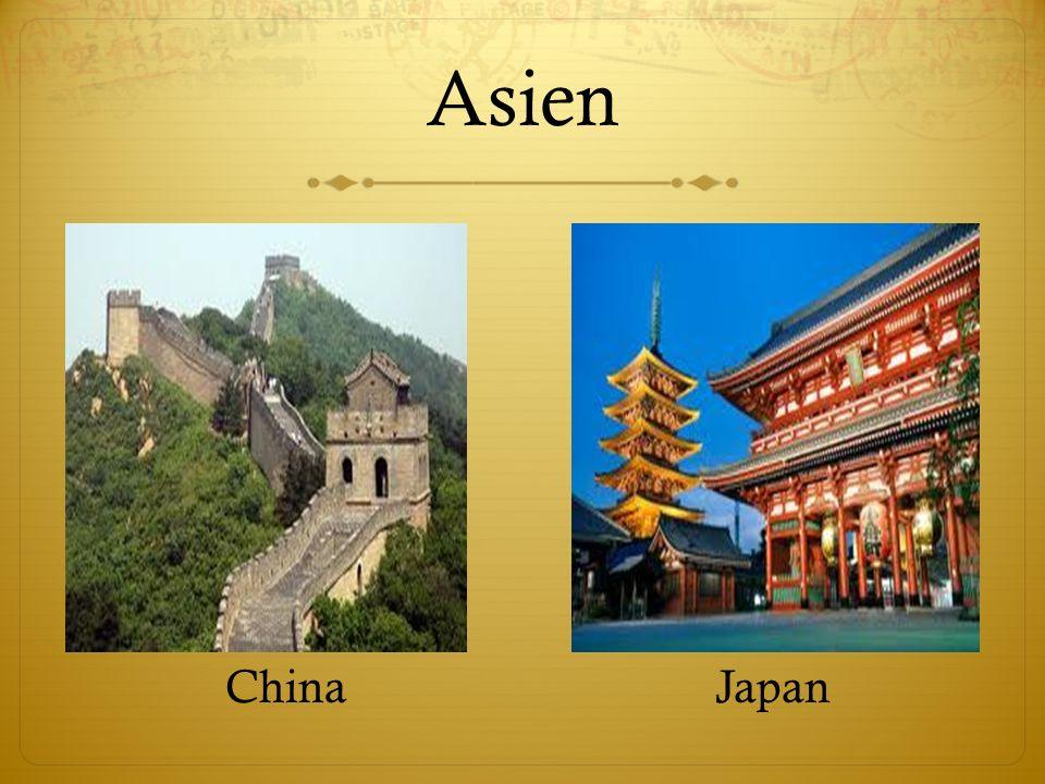 Asien ChinaJapan