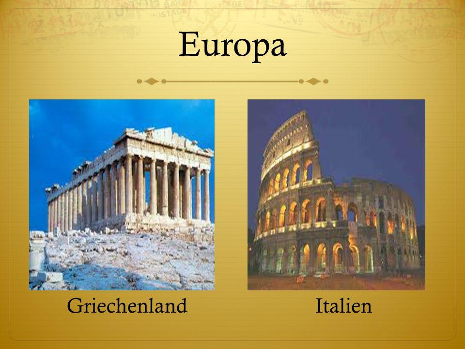 Europa GriechenlandItalien