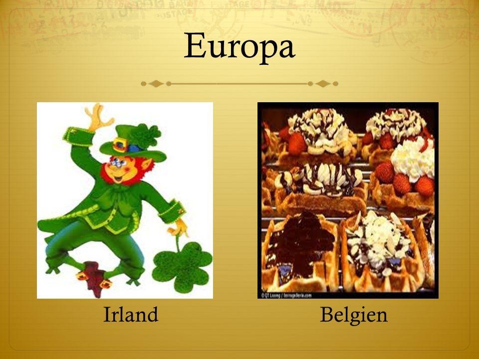 Europa IrlandBelgien