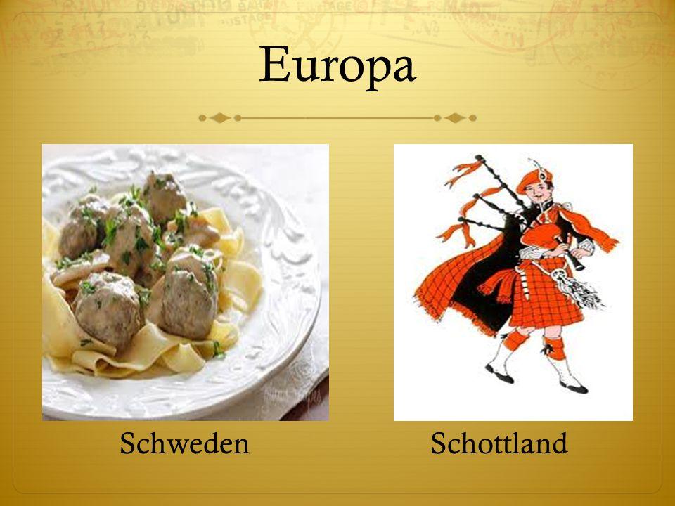 Europa SchwedenSchottland