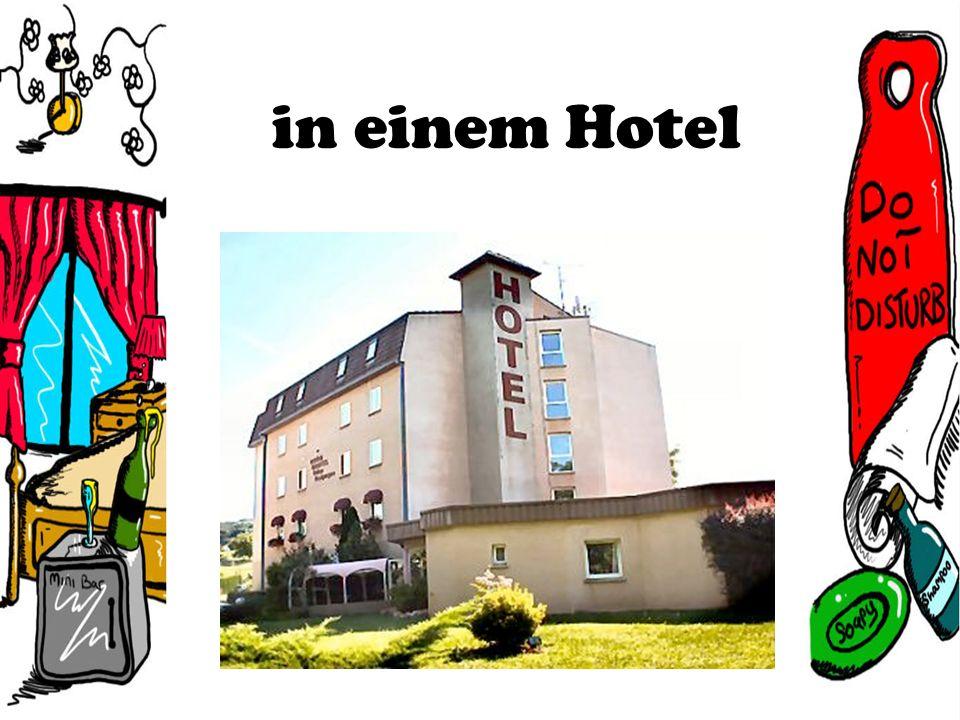 in einem Hotel