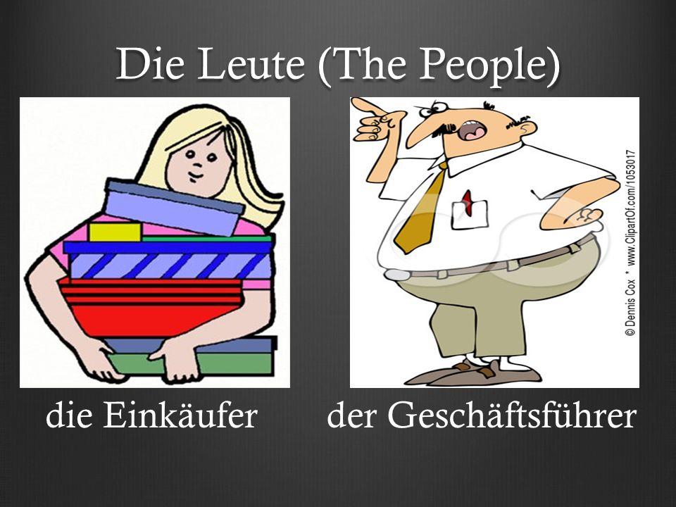 Die Leute (The People) die Einkäuferder Geschäftsführer