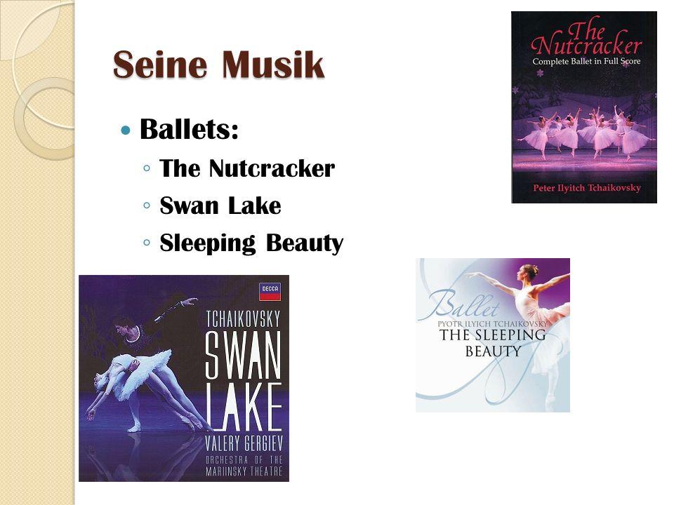 Seine Musik Ballets: The Nutcracker Swan Lake Sleeping Beauty