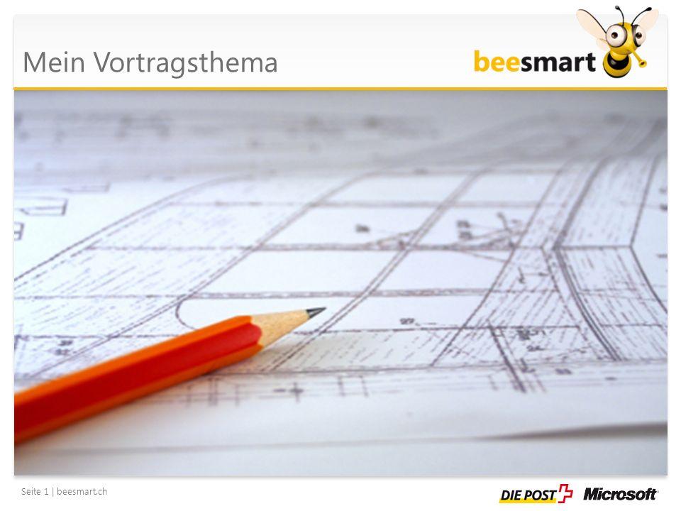 Seite 2 | beesmart.ch 1.des Vortragszieles, 2.des Vortragsverlaufes und 3.der einzelnen Teilschritte zum Erreichen des Lernzieles Nutzen Sie für die Darstellung eines Prozesses eine SmartArt-Grafik.