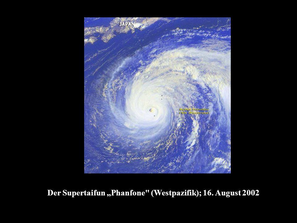 Der Supertaifun Phanfone