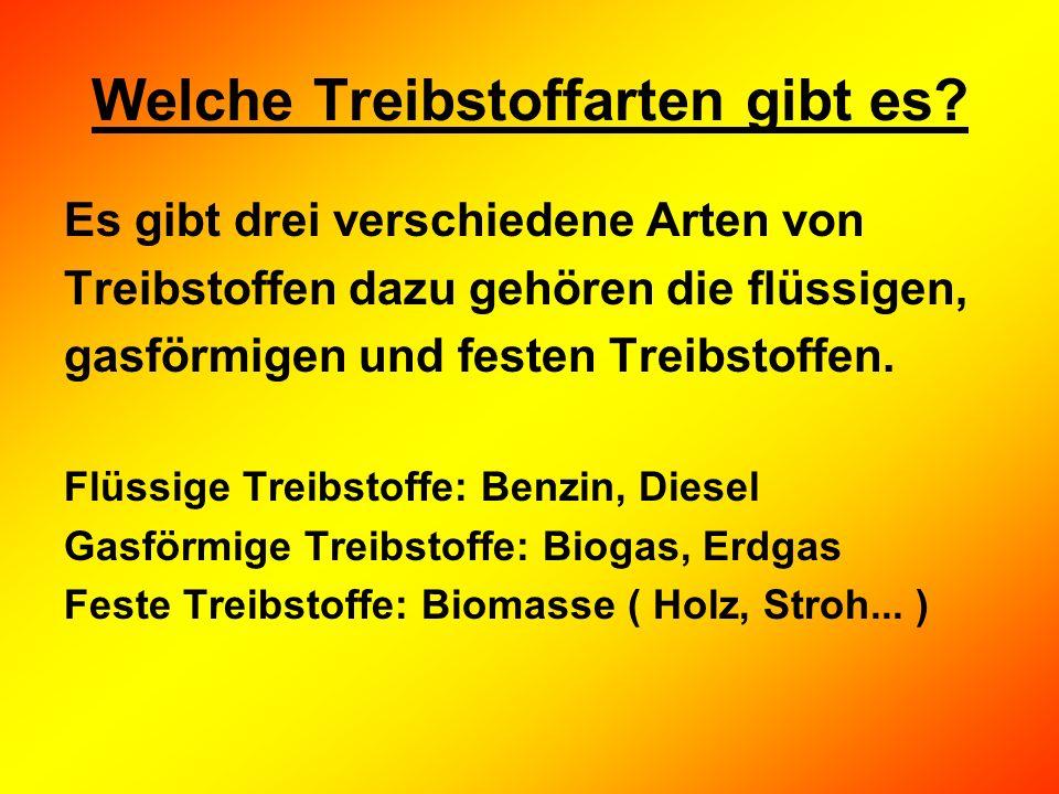 Meist gebrauchten Treibstoff Benzin Diesel