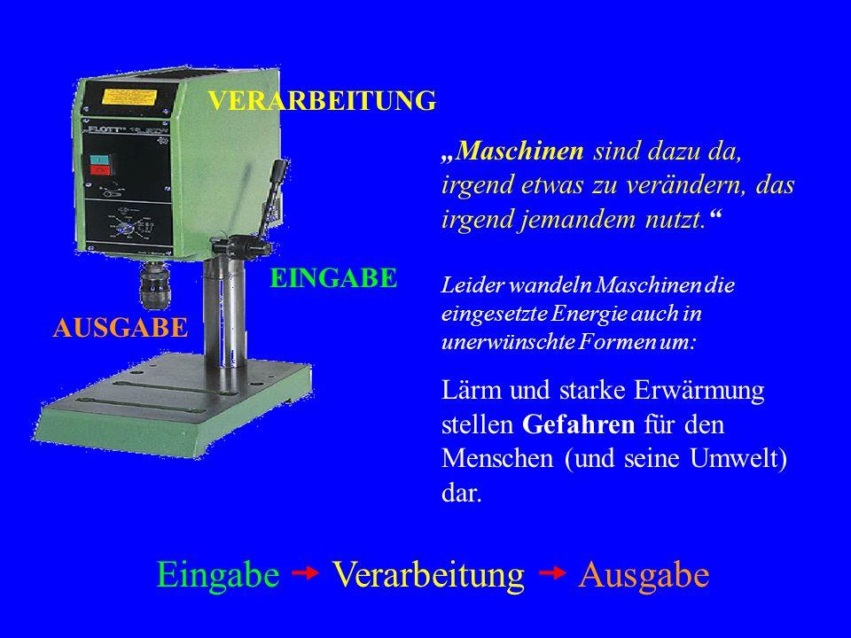 Die Tischbohrmaschine