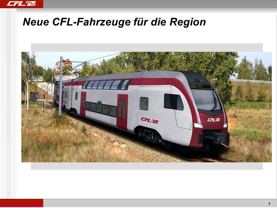 4 Neue CFL-Fahrzeuge für die Region