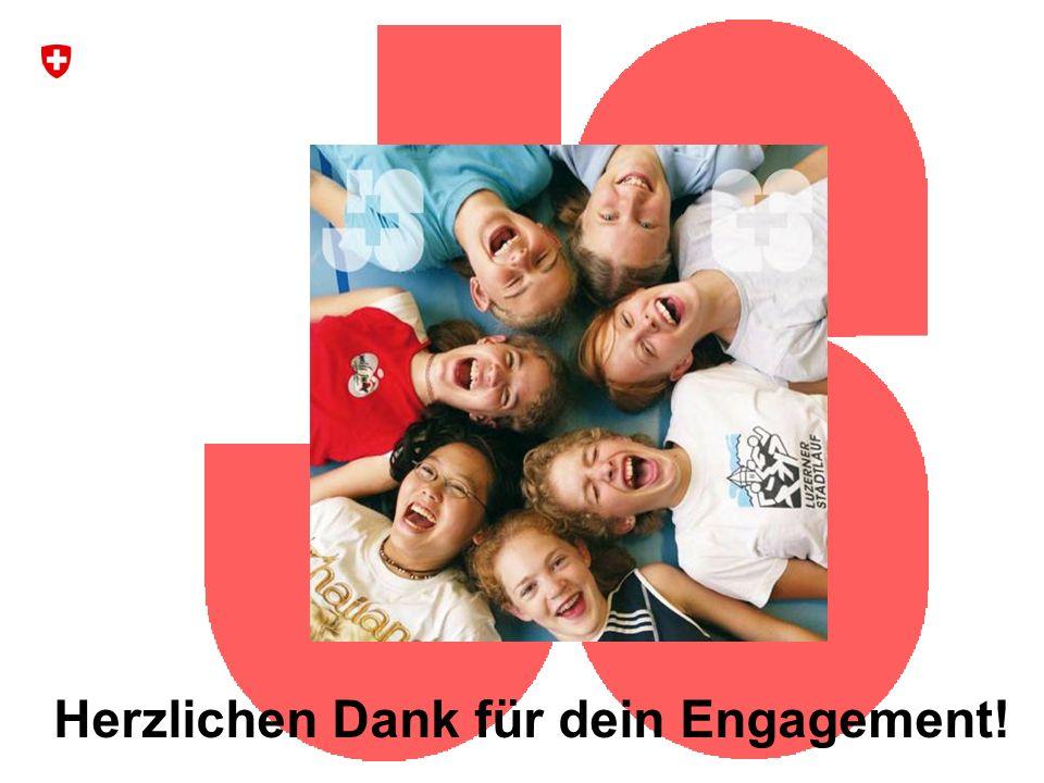 26 Bundesamt für Sport BASPO Jugend+Sport Herzlichen Dank für dein Engagement!