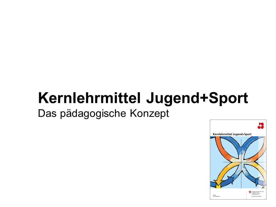 Kernlehrmittel Jugend+Sport Das pädagogische Konzept