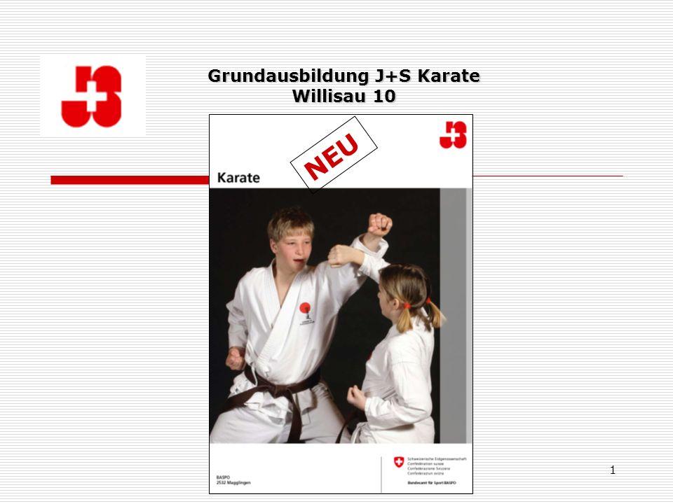 Thomas Hertig, Fachleiter J+S Karate 1 Grundausbildung J+S Karate Willisau 10 NEU