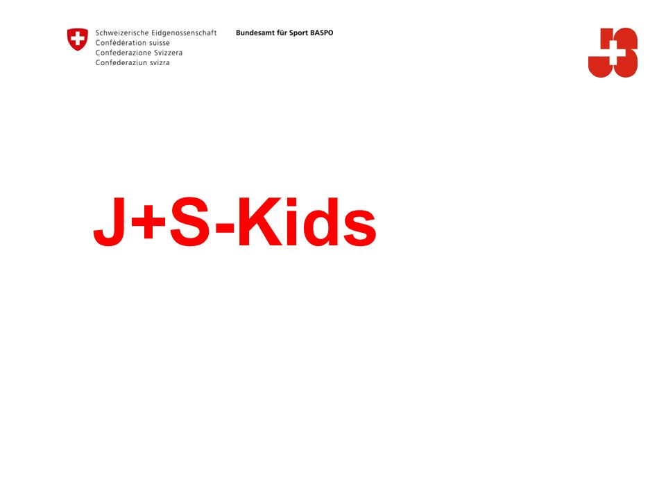 12 Bundesamt für Sport Jugend+Sport 2. Neues Kursjournal
