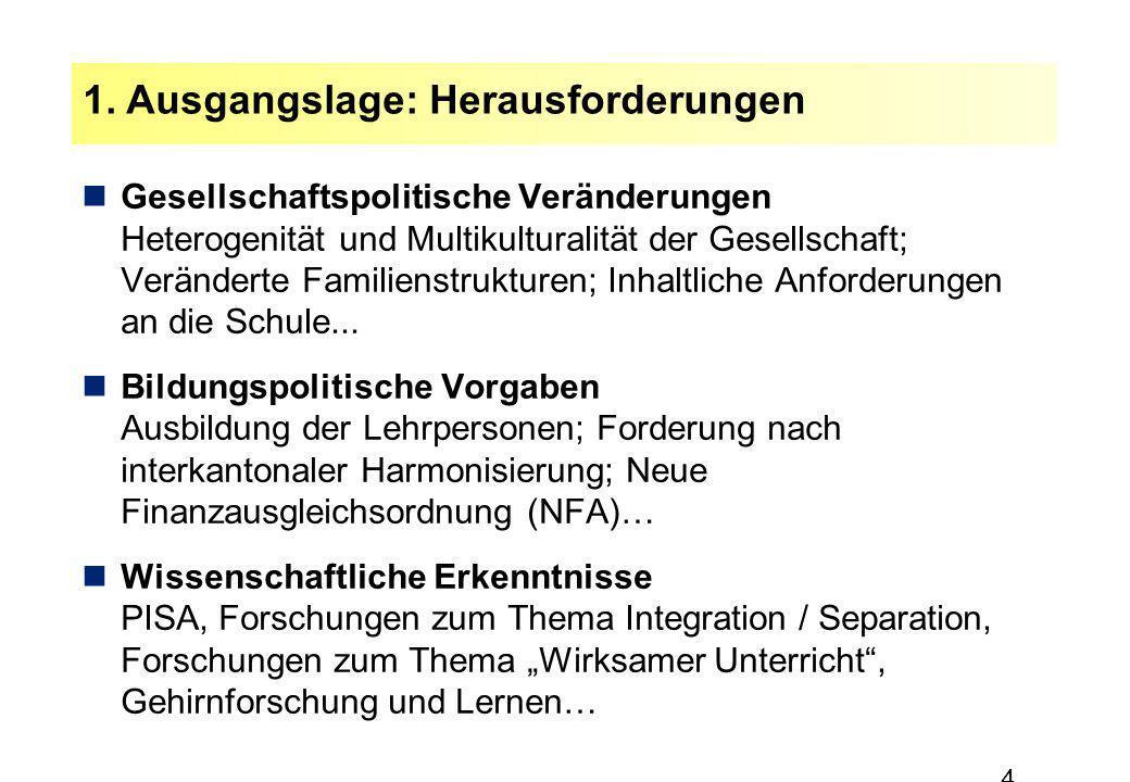 4 Gesellschaftspolitische Veränderungen Heterogenität und Multikulturalität der Gesellschaft; Veränderte Familienstrukturen; Inhaltliche Anforderungen