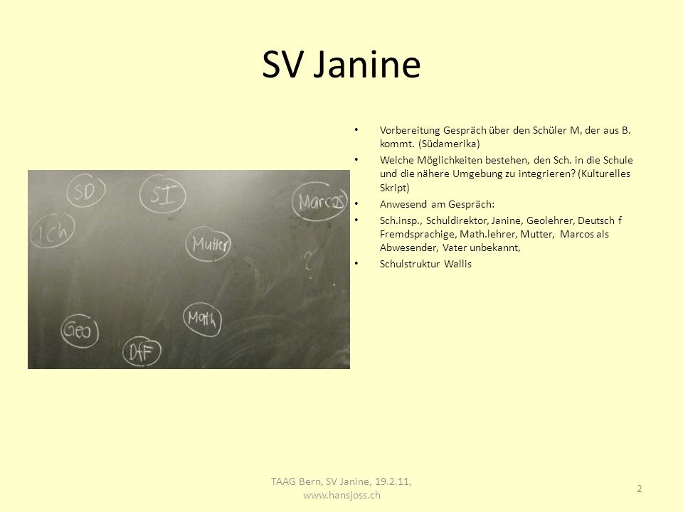 13 TAAG Bern, SV Janine, 19.2.11, www.hansjoss.ch