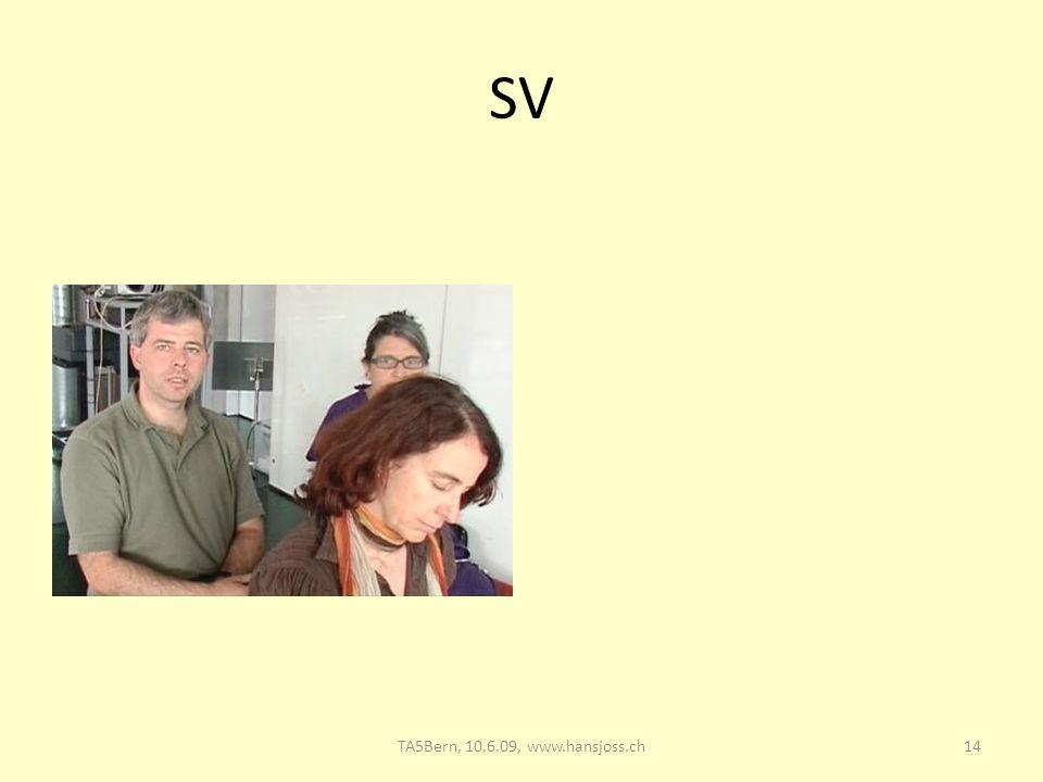 SV 14TA5Bern, 10.6.09, www.hansjoss.ch