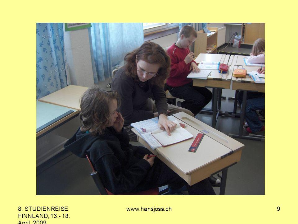 8. STUDIENREISE FINNLAND, 13.- 18. April 2009 www.hansjoss.ch9