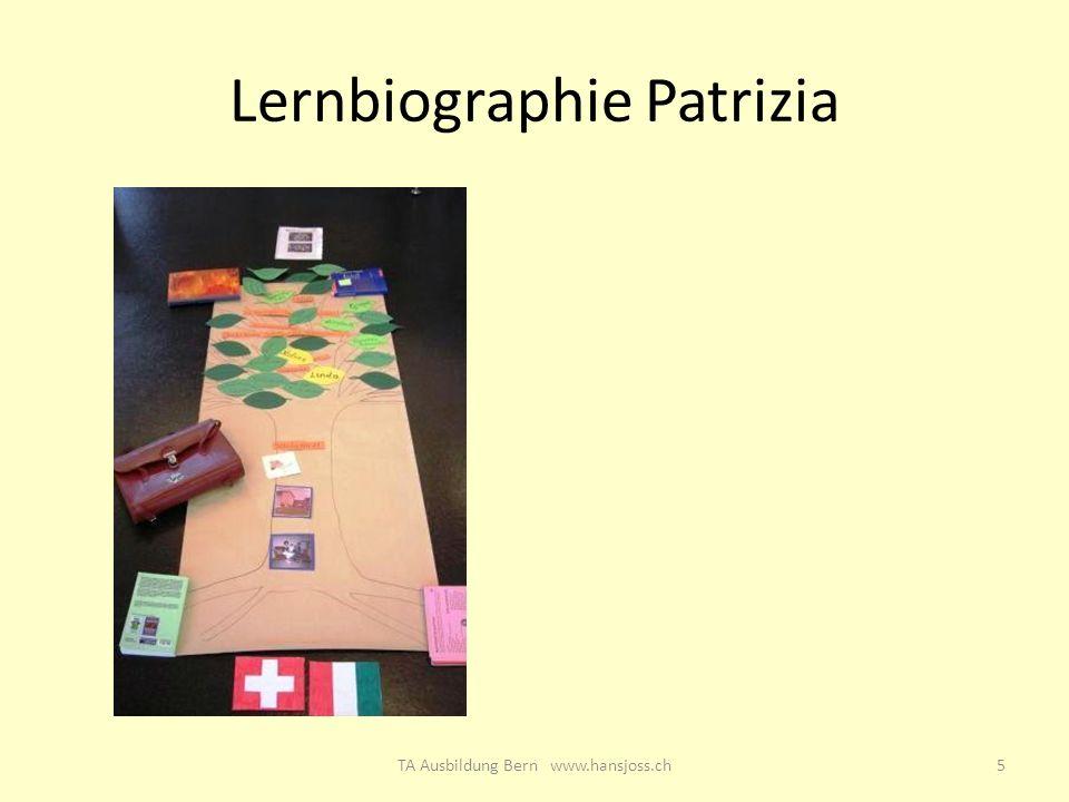 Lernbiographie Patrizia 5TA Ausbildung Bern www.hansjoss.ch
