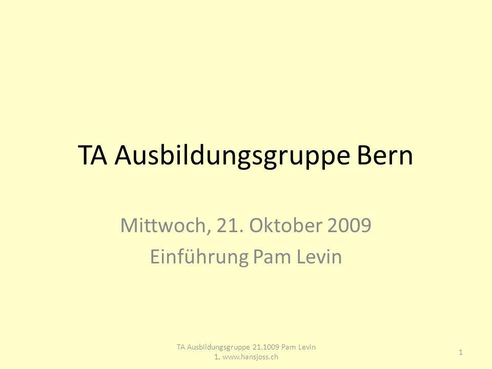 TA Ausbildungsgruppe Bern Mittwoch, 21.