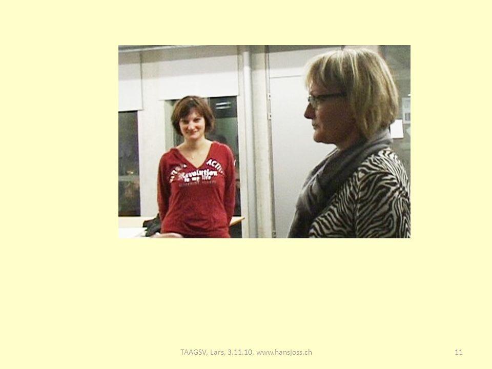 11TAAGSV, Lars, 3.11.10, www.hansjoss.ch