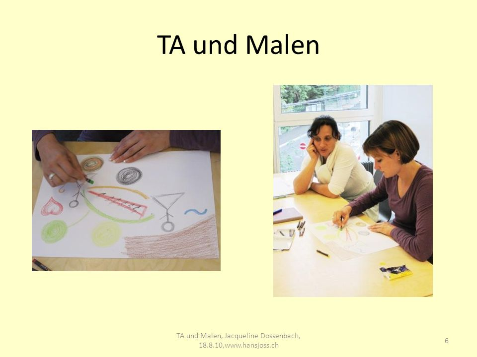 TA und Malen 6 TA und Malen, Jacqueline Dossenbach, 18.8.10,www.hansjoss.ch