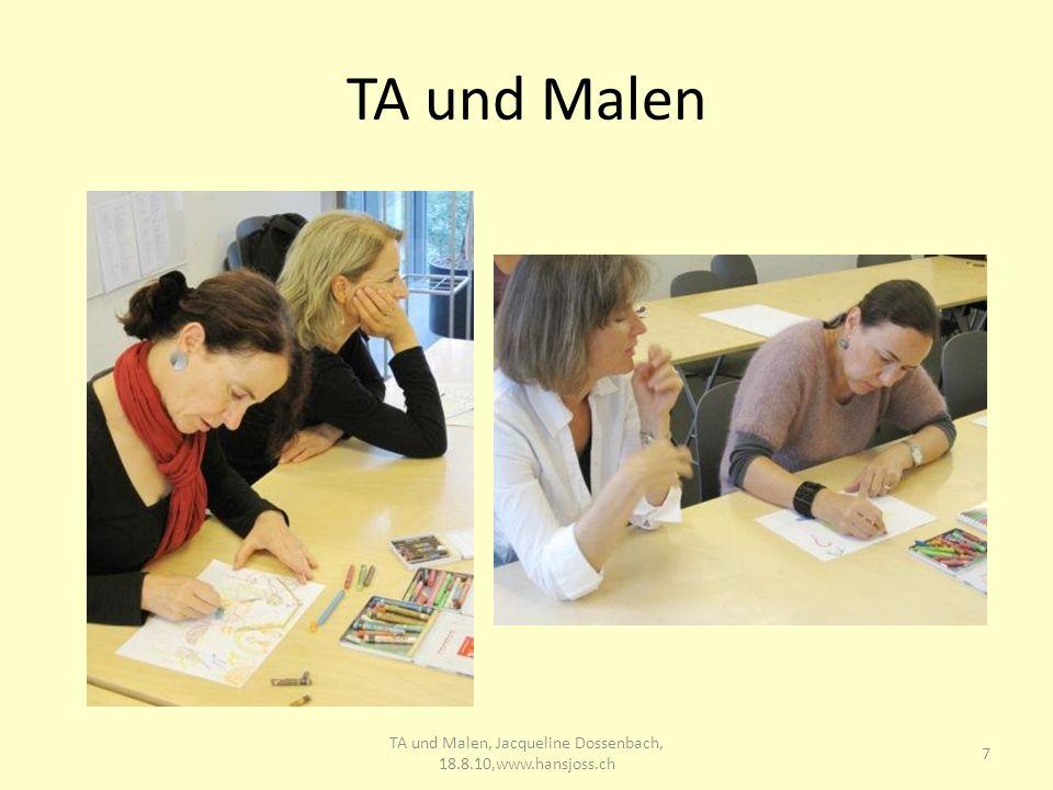 TA und Malen 7 TA und Malen, Jacqueline Dossenbach, 18.8.10,www.hansjoss.ch