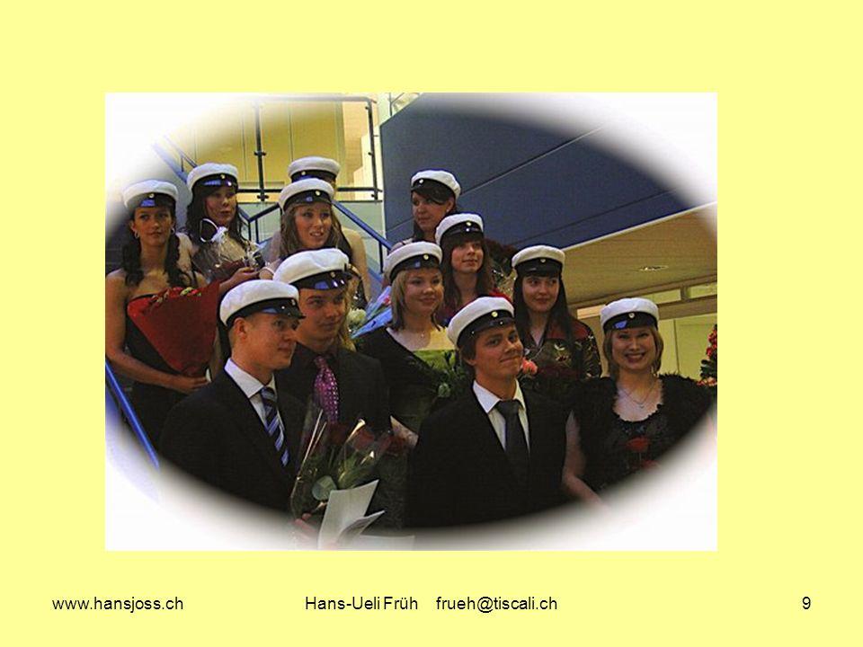 www.hansjoss.chHans-Ueli Früh frueh@tiscali.ch20 Finnland – Schweiz: Gemeinsamkeiten und Unterschiede -> Bildungswesen 2 Selektion Keine, Gemeinschaftsschule bis 9.