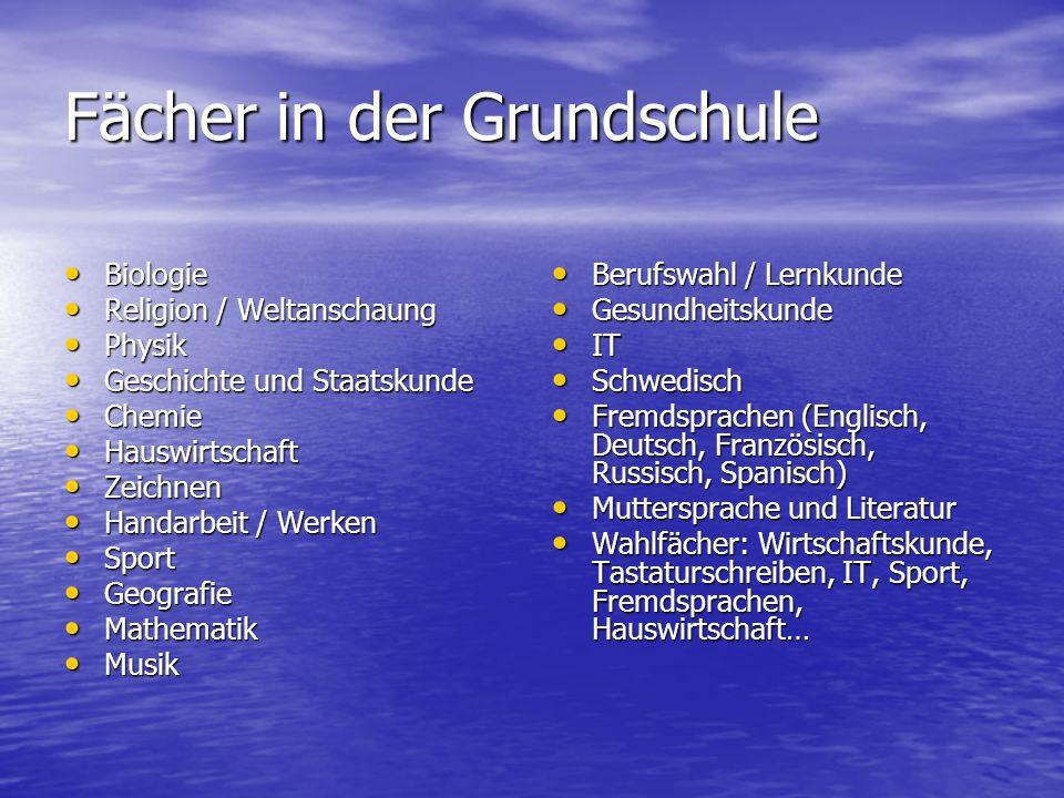 Fremdsprachen Grundlegende Merkmale: Grundlegende Merkmale: - Erste Fremdsprache (Englisch) ab der 3.