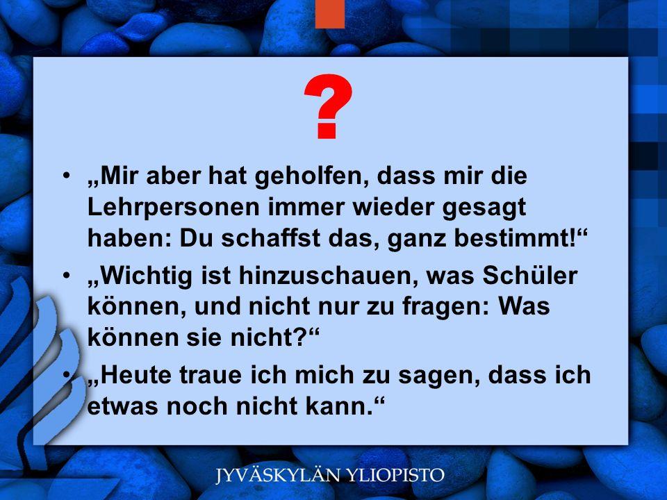 www.hansjoss.ch Neue Wege zu gehen, ohne fürchten zu müssen, Fehler zu machen.