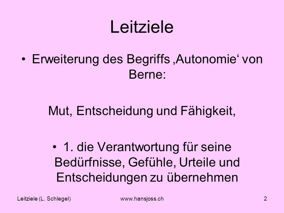 Leitziele (L.