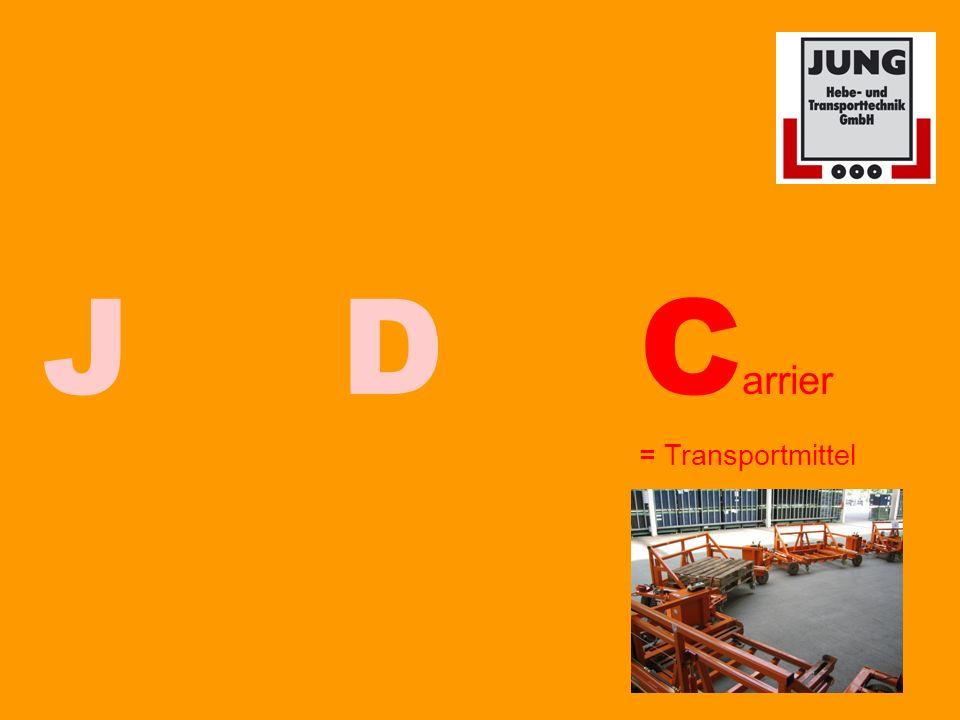 JDC arrier = Transportmittel
