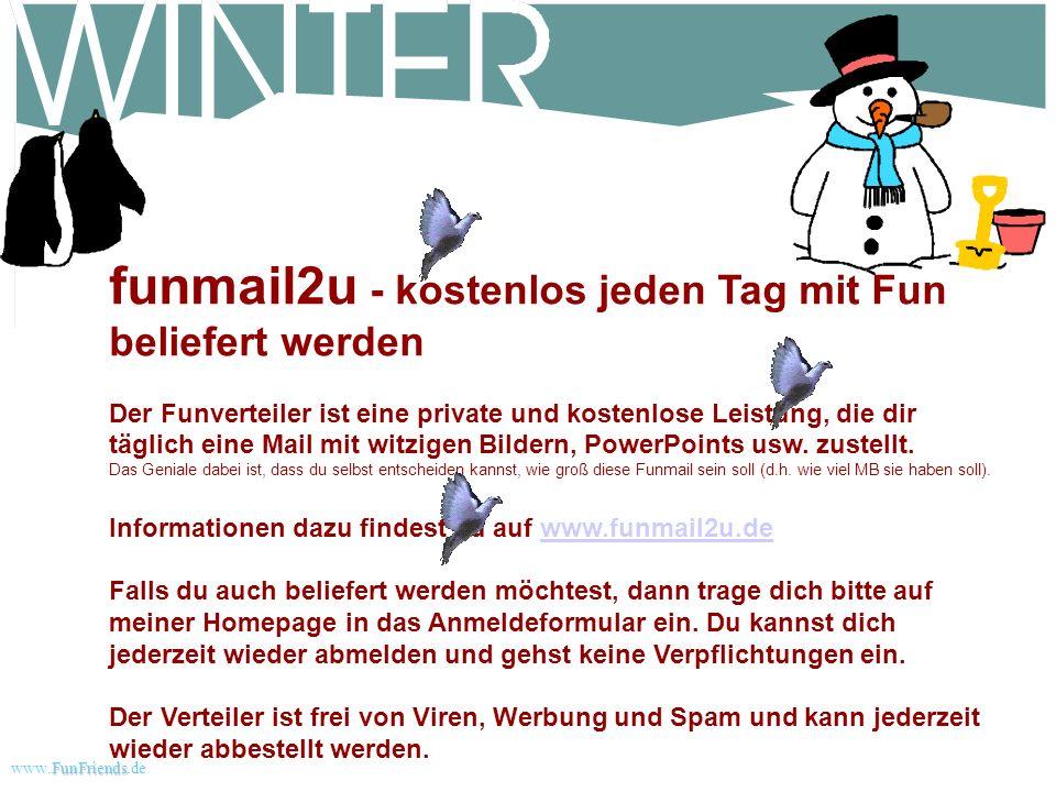 FunFriends www.FunFriends.dee