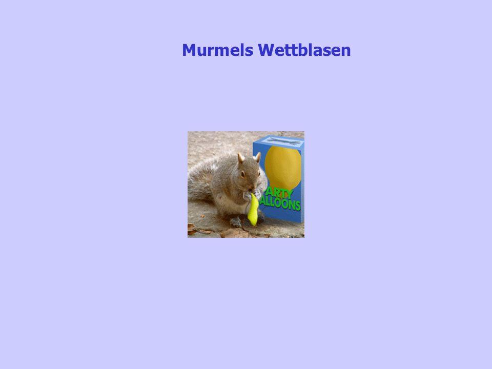 Murmels Wettblasen