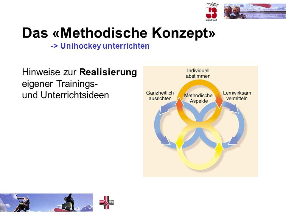 Das «Methodische Konzept» -> Unihockey unterrichten Hinweise zur Realisierung eigener Trainings- und Unterrichtsideen