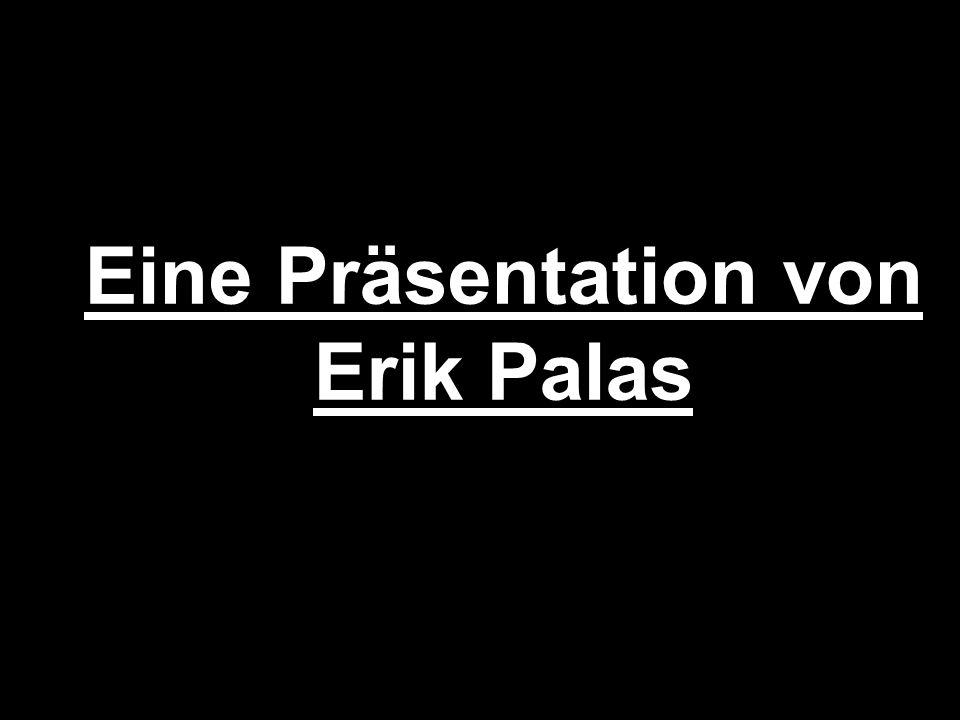 Eine Präsentation von Erik Palas