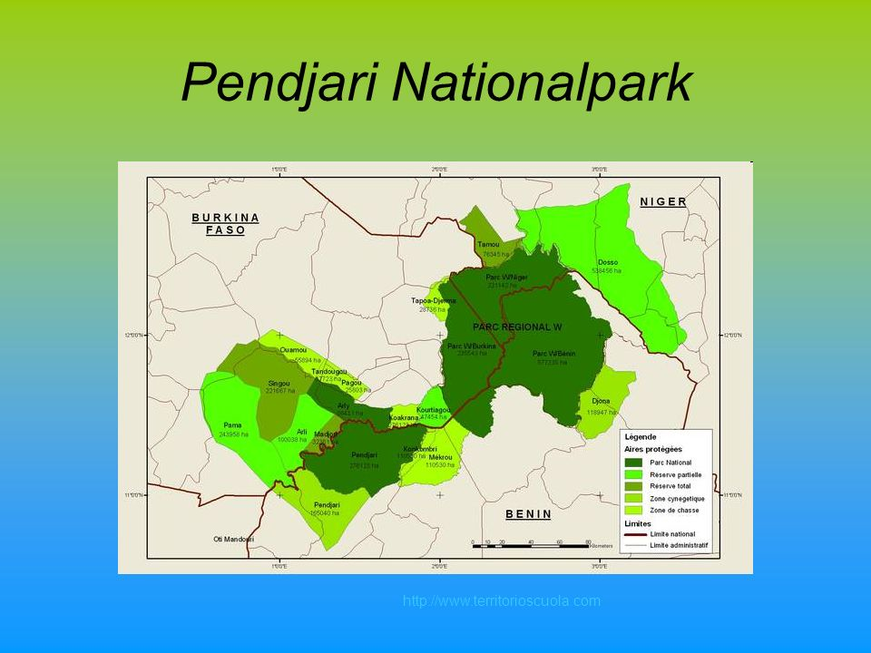 Pendjari Nationalpark http://www.territorioscuola.com