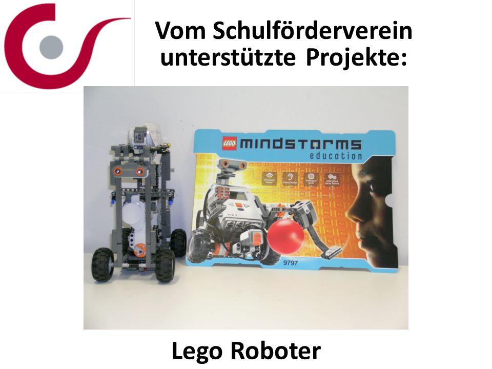 Vom Schulförderverein unterstützte Projekte: Lego Roboter