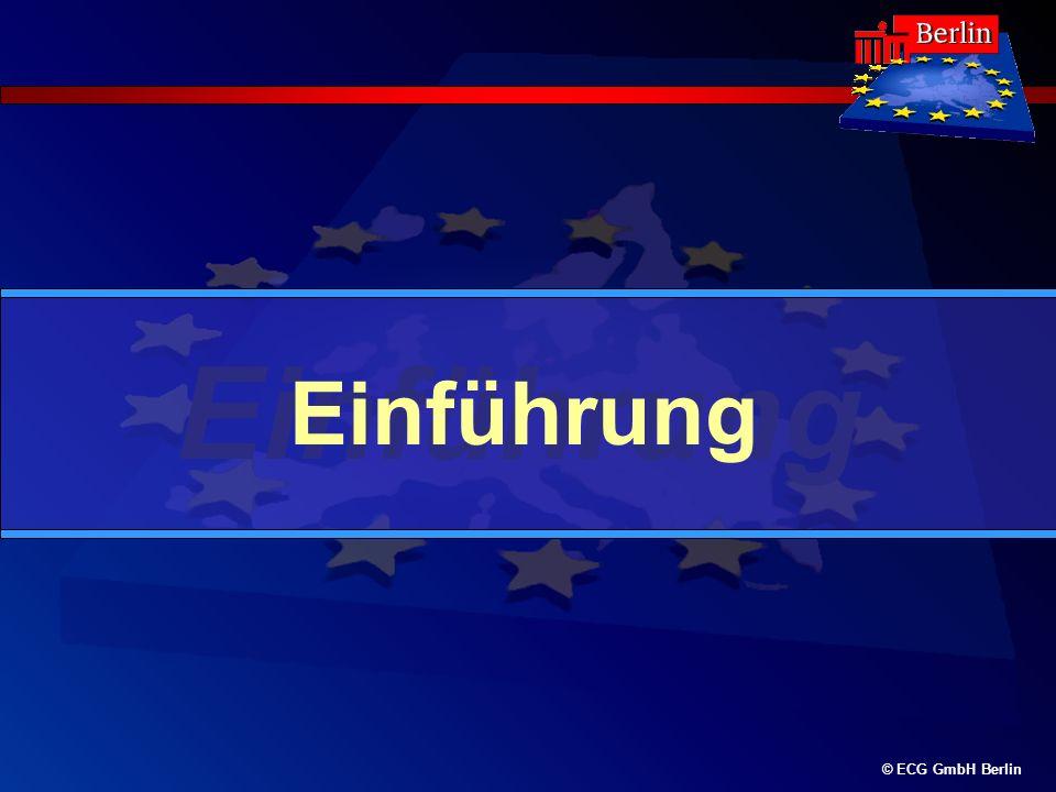 © ECG GmbH Berlin Einführung