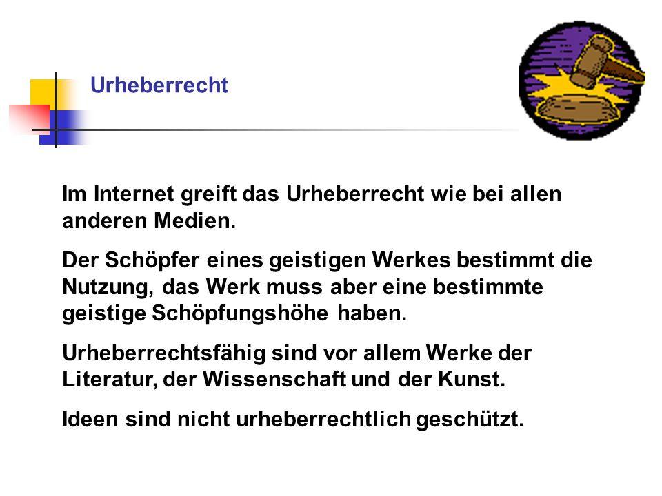 Bei der Homepage Das Abfotografieren bzw.Scannen urheberr.