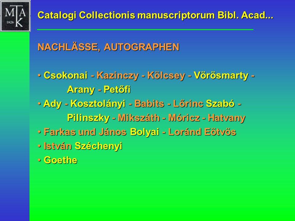 Csokonai - Kazinczy - Kölcsey - Vörösmarty - Arany - Petőfi Csokonai - Kazinczy - Kölcsey - Vörösmarty - Arany - Petőfi Ady - Kosztolányi - Babits - L