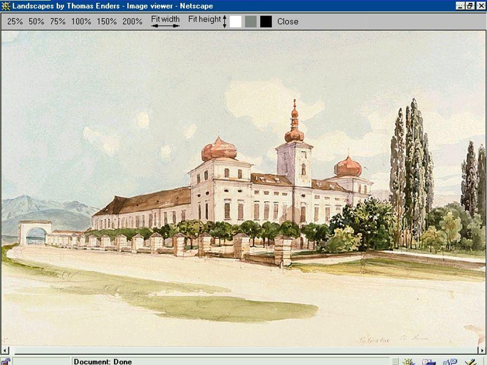 Thomas Ender, [1860-1861?] MTAK, Ms 4409/59 Das Sina-Schloß in Vágtapolca