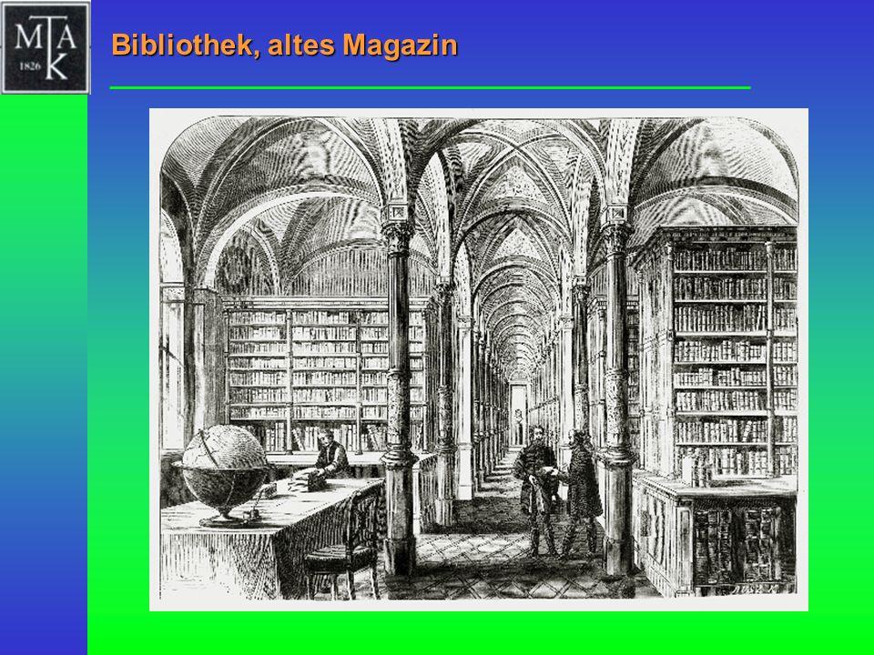 Bibliothek, altes Magazin