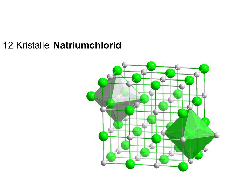 12 Kristalle Natriumchlorid