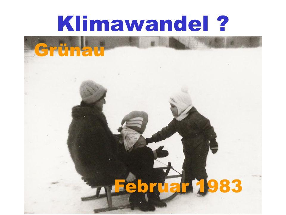 Grünau Februar 1983