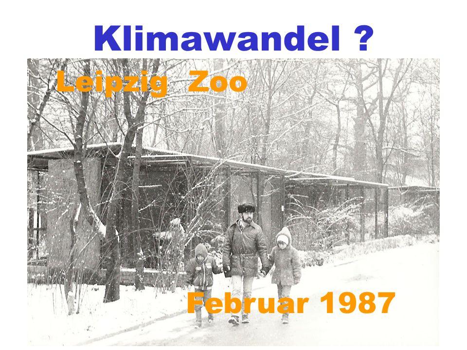 Grünau a m Schiff Leipzig Zoo Februar 1987