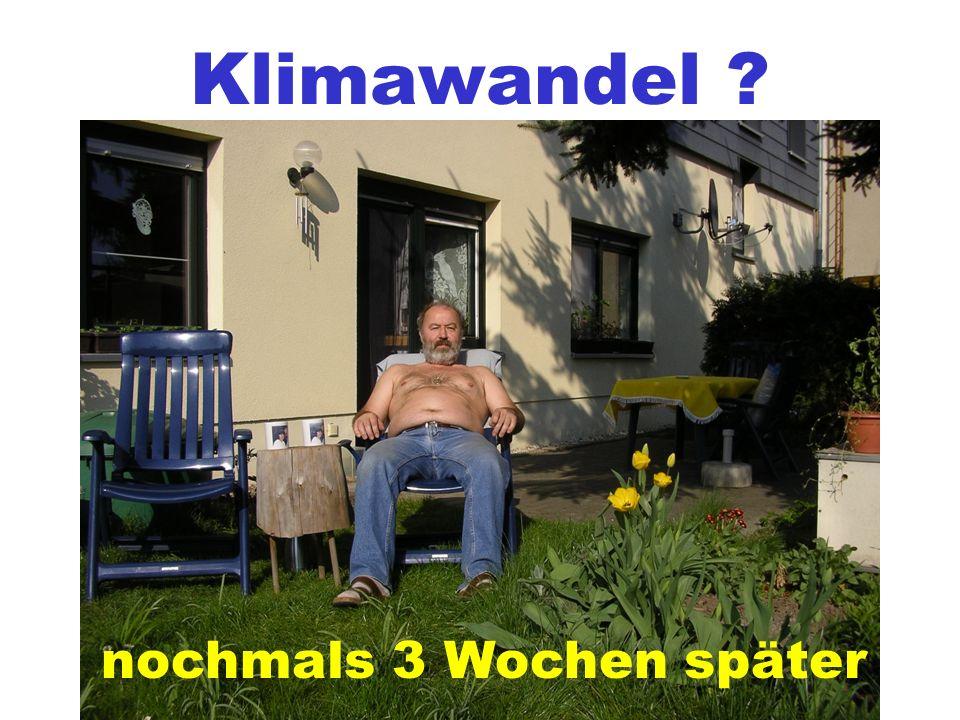12.03.2007 Ein ganz normales Wetter.
