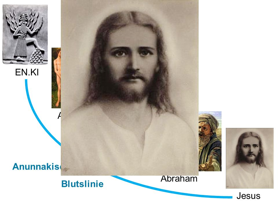 Jesus Moses Abraham Adam & Eva EN.KI Anunnakische Blutslinie