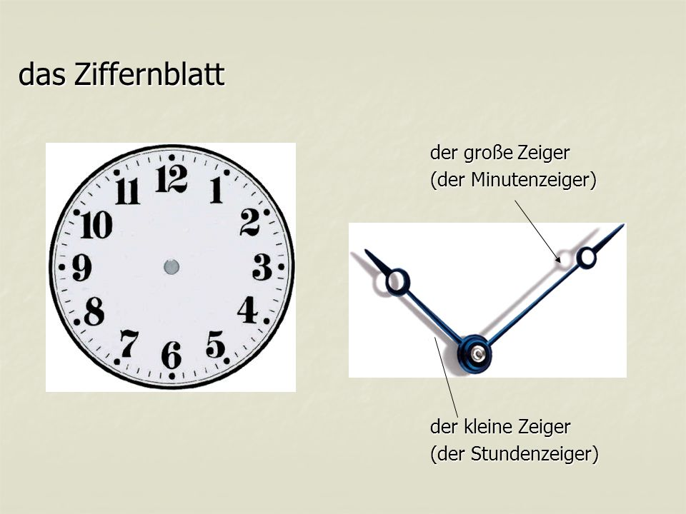 Wieviel Uhr ist es? oder oder Wie spät ist es? Wie spät ist es?